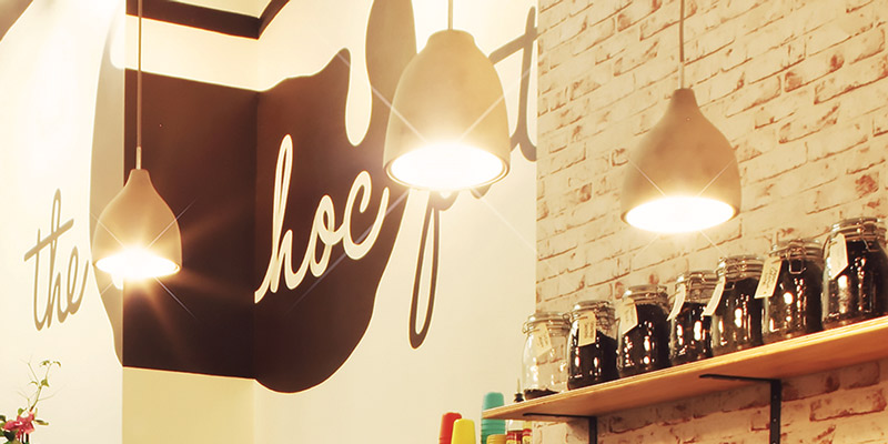 Interior Design for Choc Pot Dessert Bar in Burwood