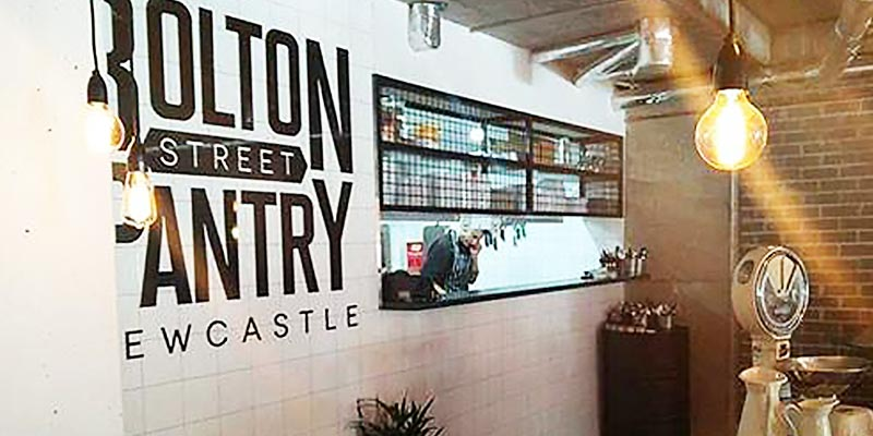 Interior Design for Bolton St Pantry in Newcastle