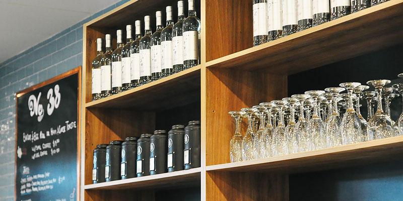 Interior Design for Cafe No. 38 in Normanhurst