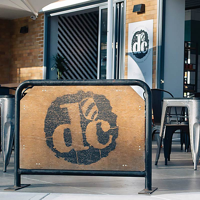Interior Design for Dans Cafe in Caringbah