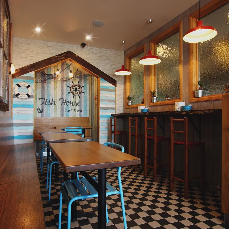 Interior Design for Fish House in Bondi