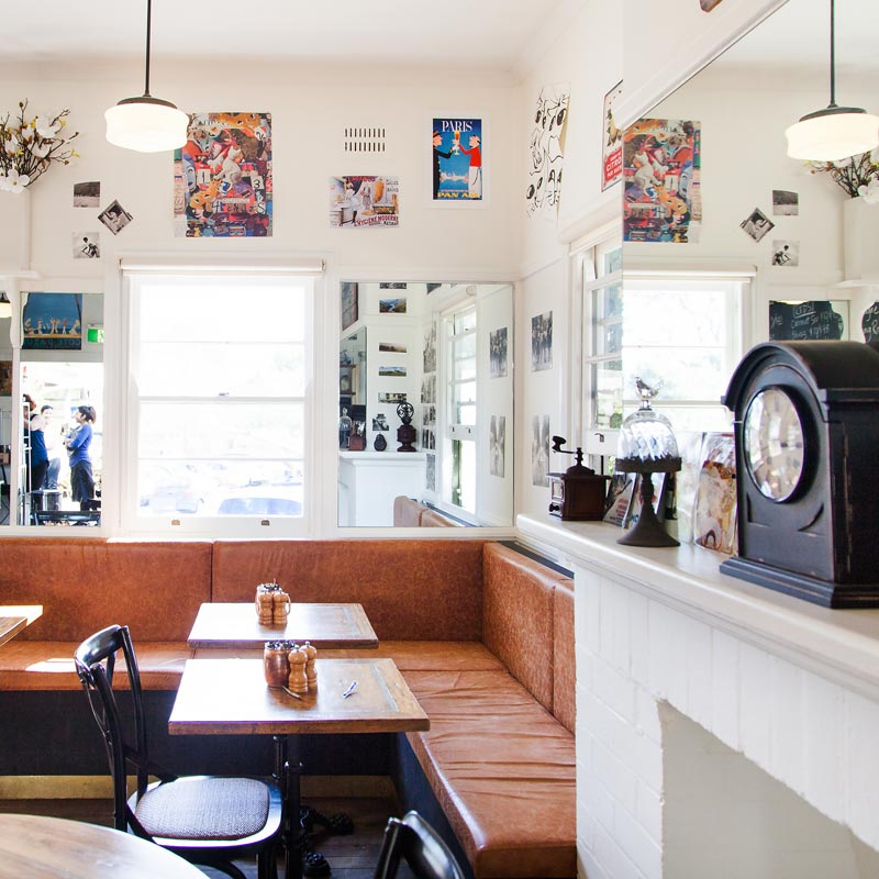 Interior Design for Frenchys Cafe in Mosman
