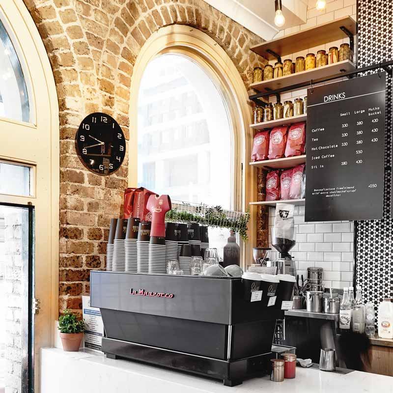 Interior Design for Lime Espresso in Sydney