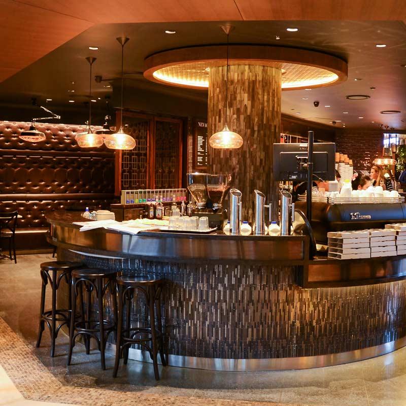 Interior Design for Nevaggio Espresso in Darling Harbour
