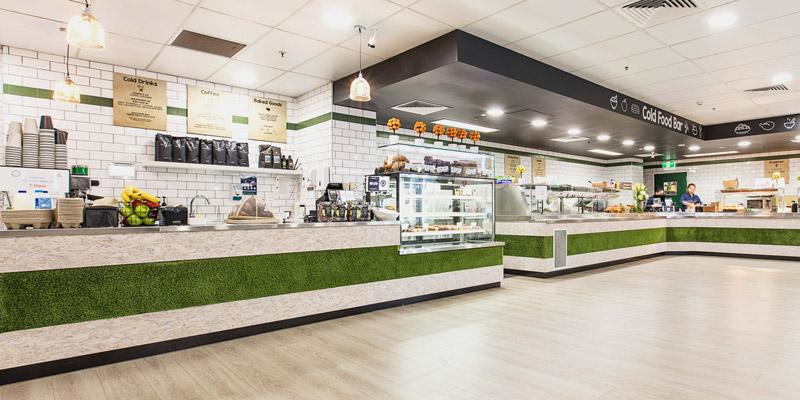 Interior Design for Barker Street Canteen in Randwick