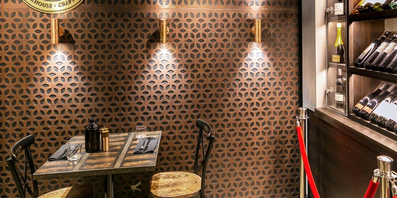 Interior Design for Elements Bar and Grill in Darlinghurst