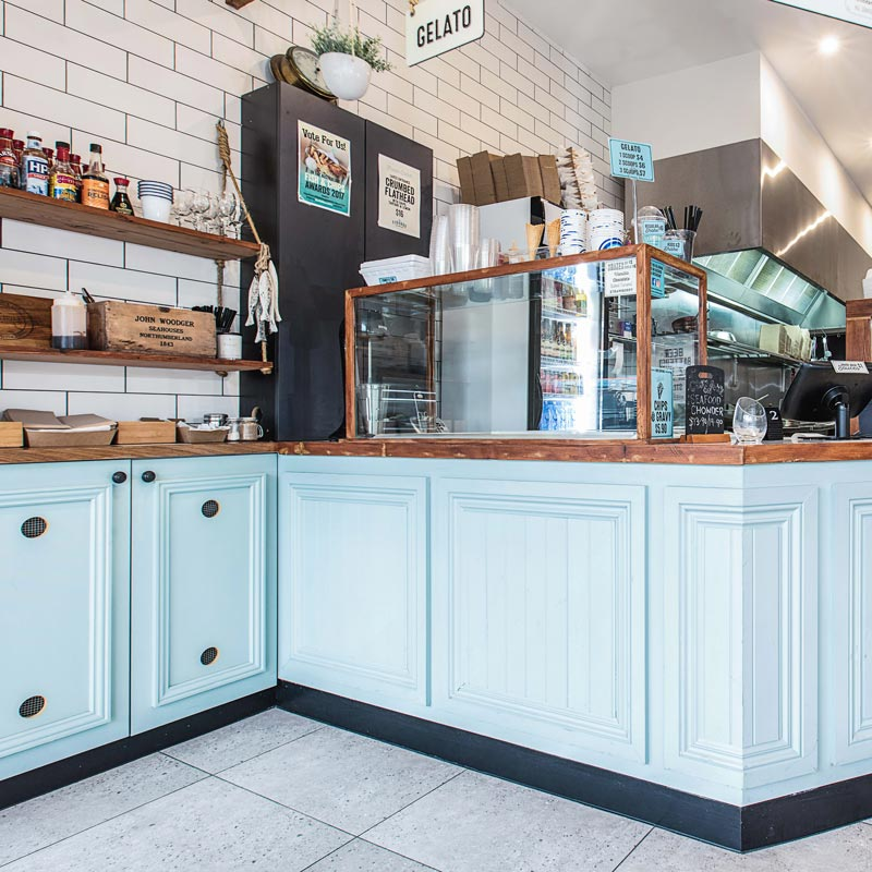 Interior Design for Fishbox in Carss Park