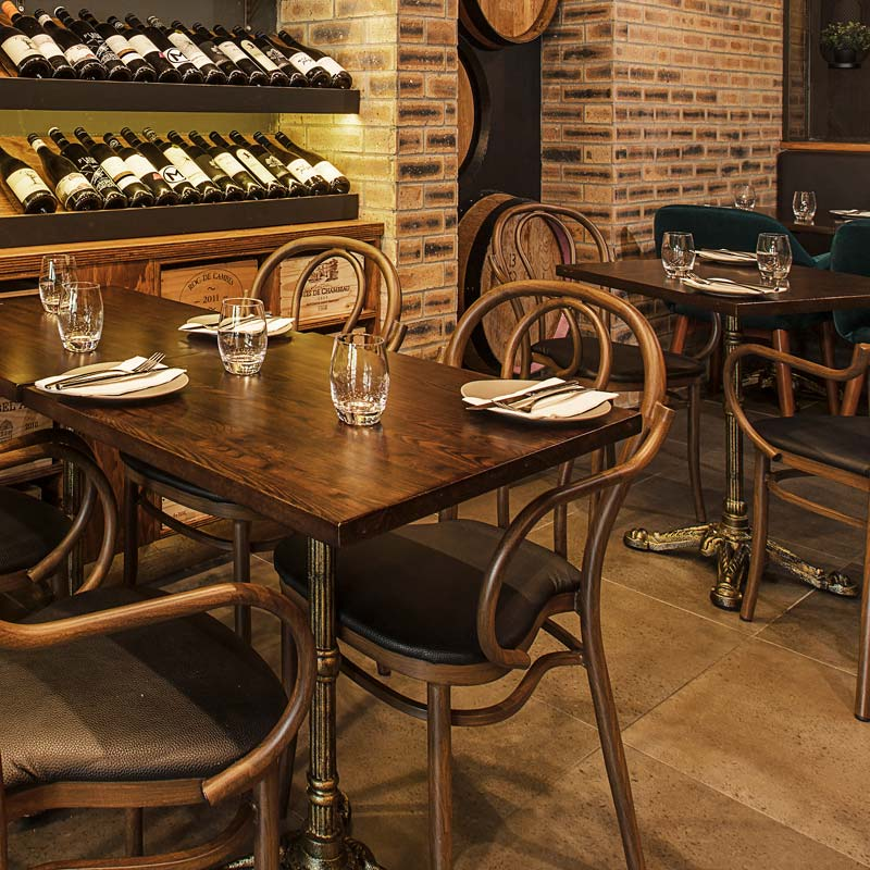 Interior Design for Good Hope Wine Bar in Manly