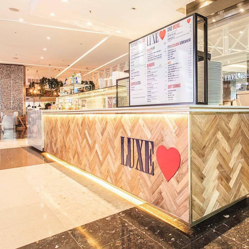 Interior Design for Luxe Bar in Bondi Junction
