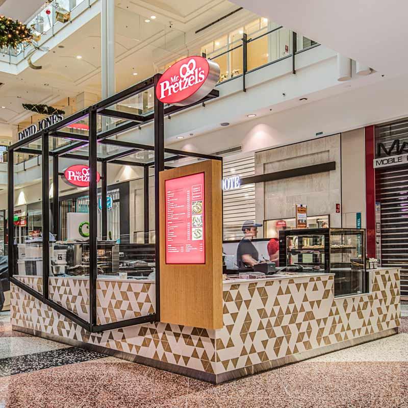 Interior Design for Mr Pretzels in Hornsby