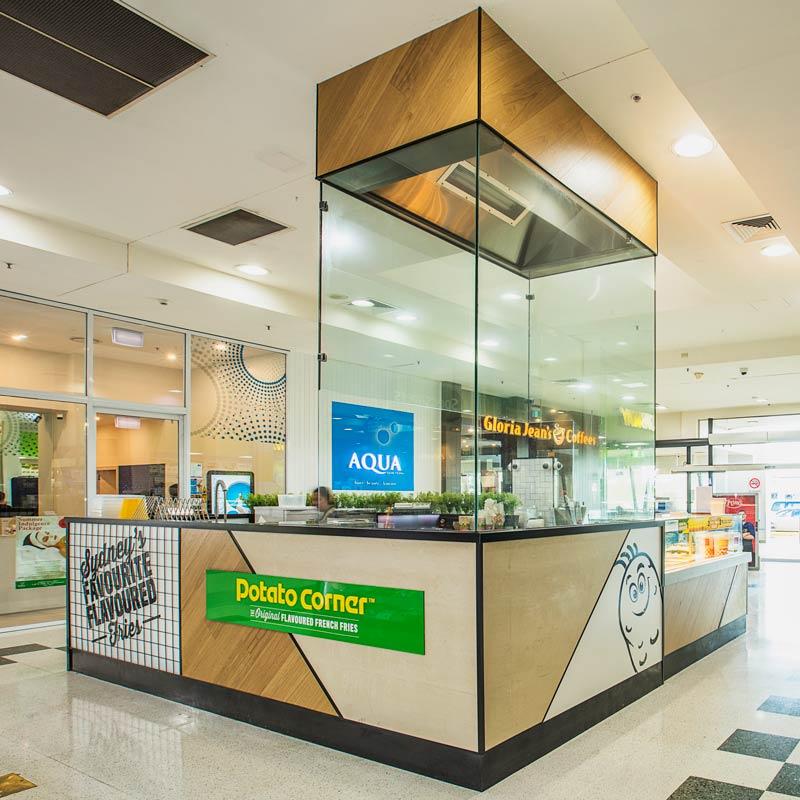 Interior Design for Potato Corner in Plumpton