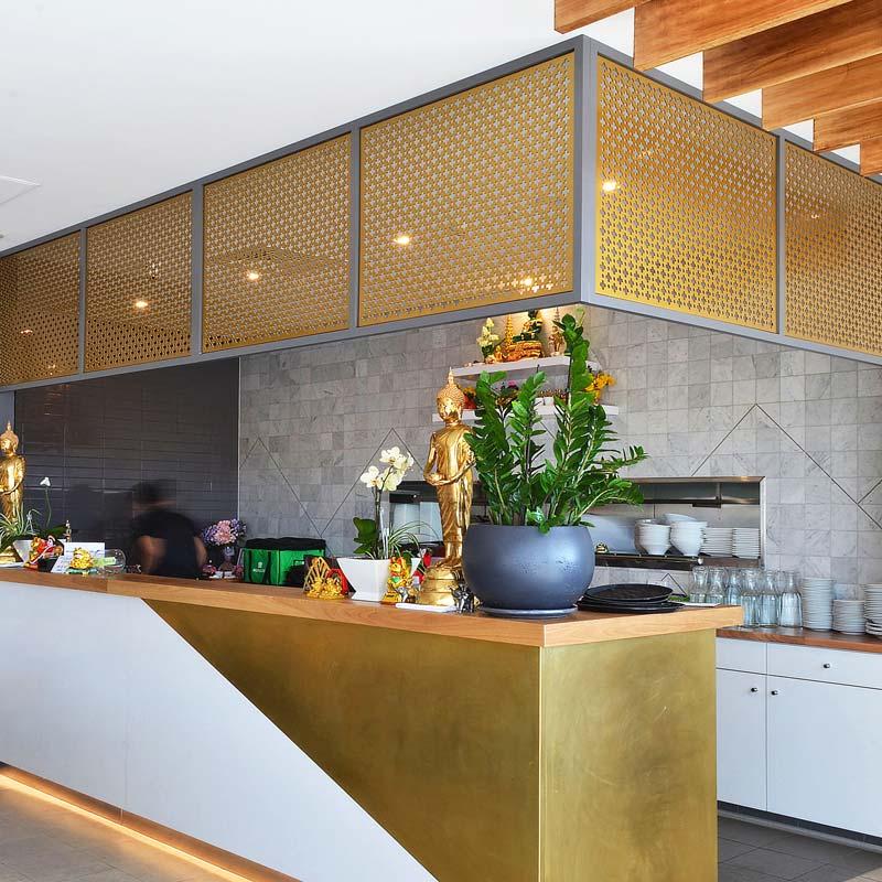 Interior Design for Thai Emerald in Emerald Hills