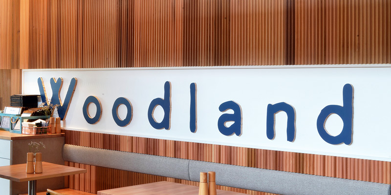 Interior Design for Woodland Cafe in Mascot