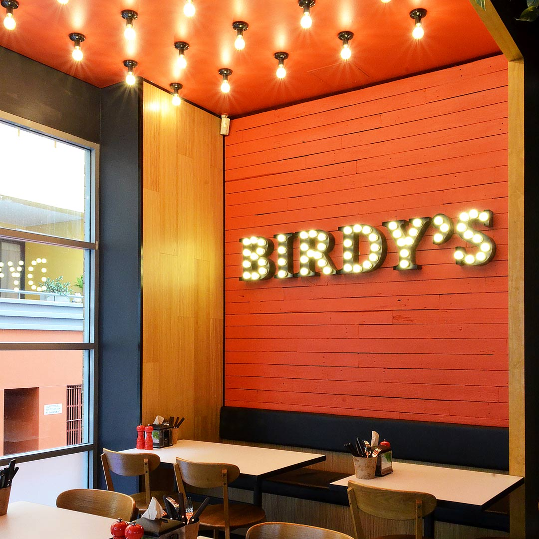 Interior Design for Birdy's Chicken in Pyrmont