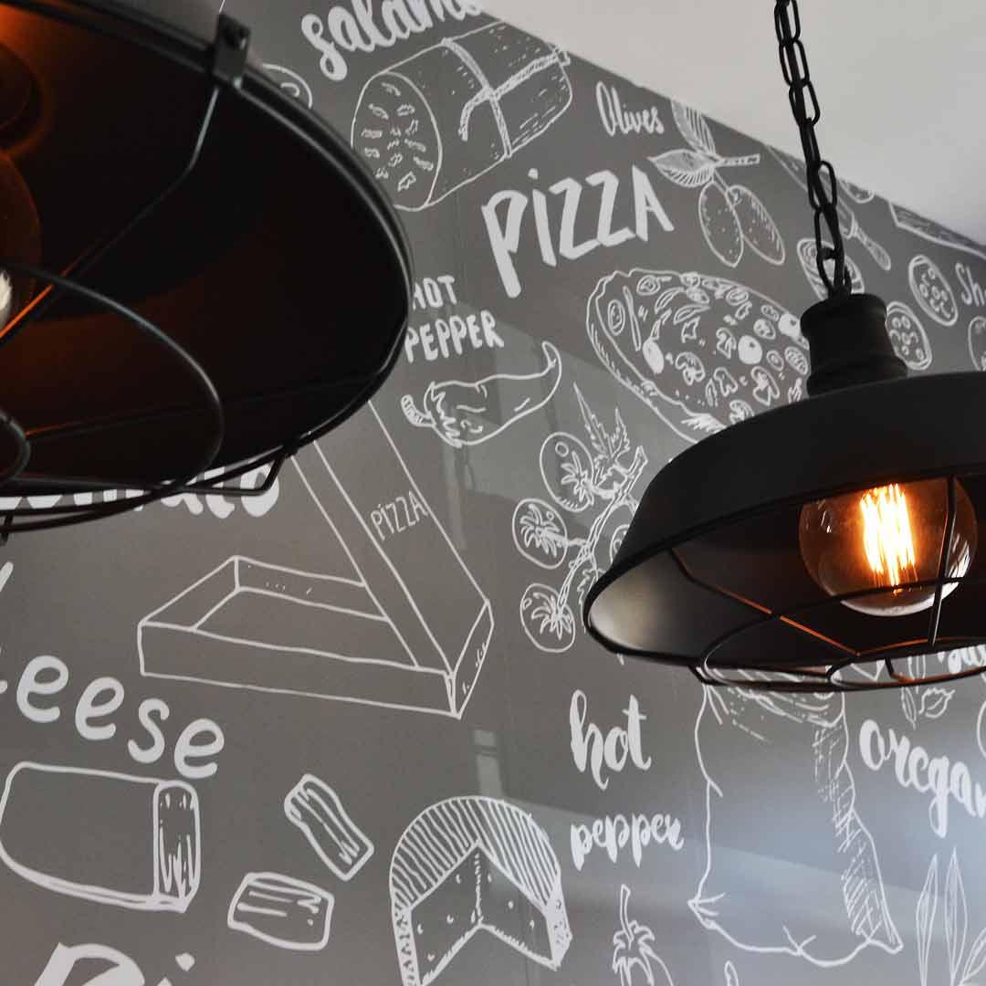 Interior Design for The Pizza Heist in Miranda