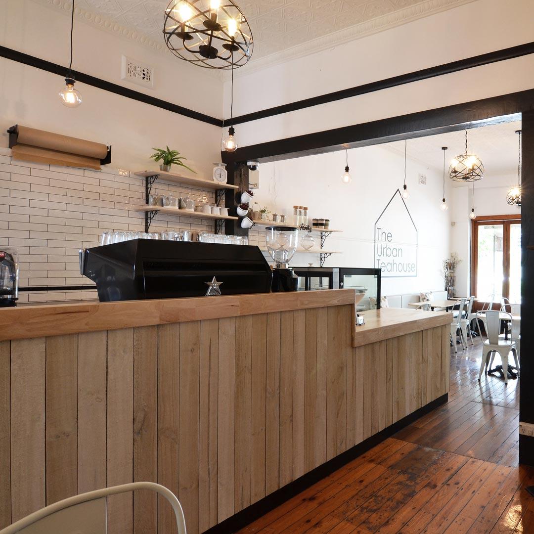 Interior Design for The Urban Teahouse in Naremburn
